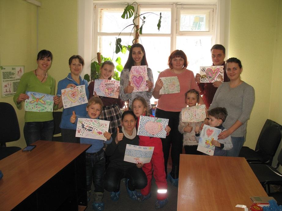 Детско-родительский мастер-класс «Нарисуем мир вместе», 25.02.2018