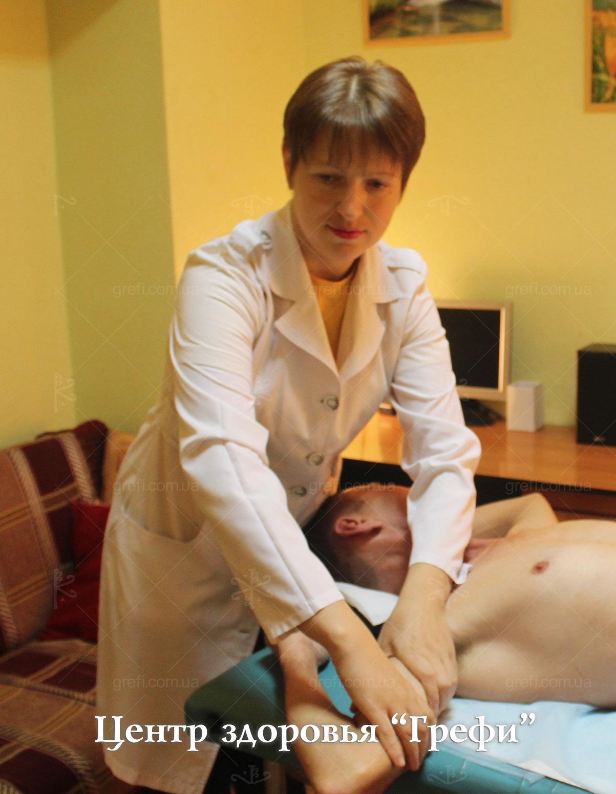 Массажист Центра здоровья Грефи Калиниченко Дарья Владимировна. Лечебный, восстановительный, лимфодренажный, антицеллюлитный, комплексный, эстетический, нейроседативный массаж в Запорожье.