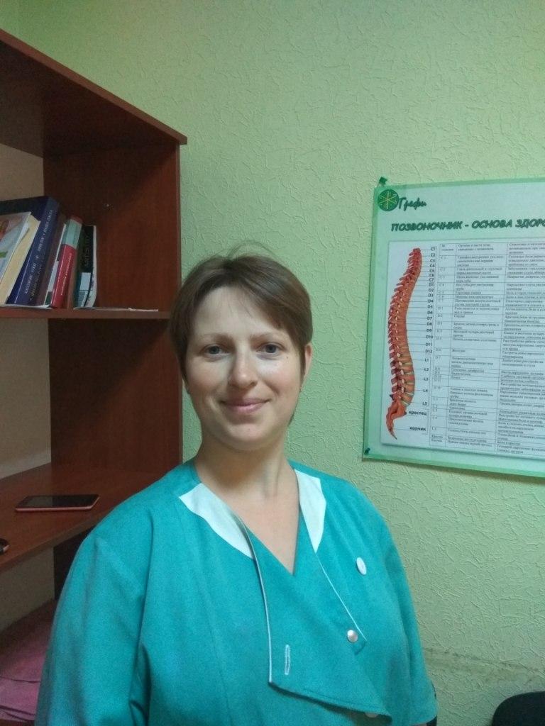 Реабилитолог Центра здоровья Грефи Калиниченко Дарья Владимировна - специалист по физической реабилитации и восстановлении организма.