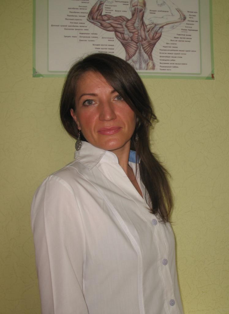 Массажист Центра здоровья Грефи Якунина Юлия Анатольевна. Лечебный, восстановительный, лимфодренажный, антицеллюлитный, комплексный, тайский, Гуа Ша массаж в Запорожье.