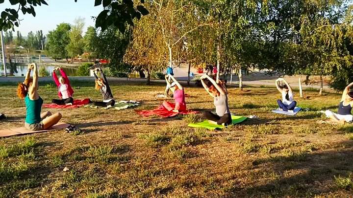 Бесплатные субботние мастер-классы йоги