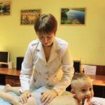 Массаж для грудничков в Запорожье Центр Грефи